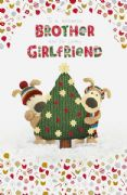 Boofle Brother & Girlfriend Christmas Card